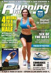 Running Magazine Cover