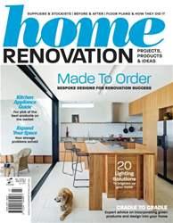 Home Renovation Magazine Cover