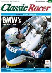 Classic Racer Magazine Cover