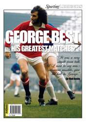 George Best his Greatest Matches Magazine Cover