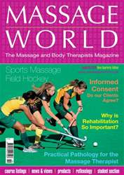Massage World Issue 85 issue Massage World Issue 85