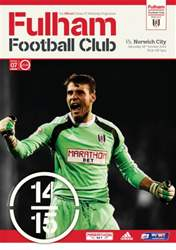 Fulham v Norwich City 2014/15 issue Fulham v Norwich City 2014/15