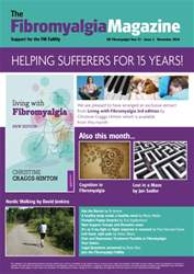 Fibromyalgia Magazine November 2014 issue Fibromyalgia Magazine November 2014