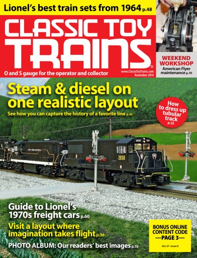 Classic Toy Trains Digital Issue