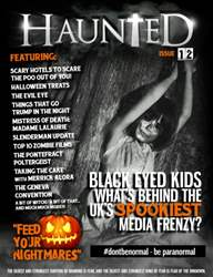 Haunted Magazine Issue 12 issue Haunted Magazine Issue 12