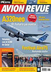 Avion Revue Internacional Magazine Cover
