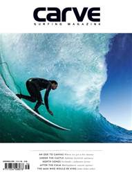 Carve Surfing Magazine issue 156 issue Carve Surfing Magazine issue 156