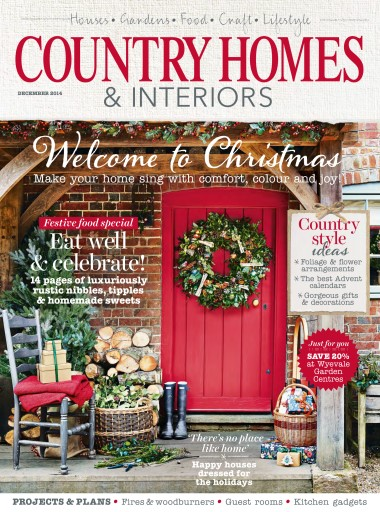 Country Homes Interiors Magazine Dec 14 Subscriptions Pocketmags