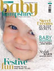 Baby Hampshire Magazine Cover