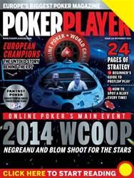 PokerPlayer Magazine Cover