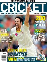 Cricket Summer Guide Magazine Cover