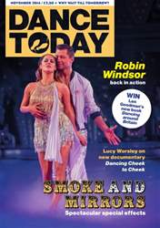 Dance Today Magazine Cover