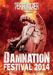 Free Official Damnation 2014 Programme issue Free Official Damnation 2014 Programme