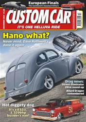 Custom Car Magazine Cover