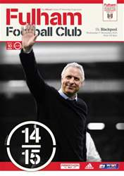 Fulham v Blackpool 2014/15 issue Fulham v Blackpool 2014/15