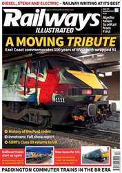 Railways Illustrated Magazine Cover