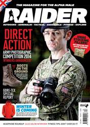 Raider Magazine Cover