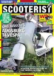 Classic Scooterist Magazine Cover