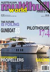 Multihull Magazine # 129 issue Multihull Magazine # 129