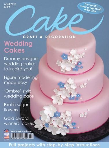 Cake Decoration Sugarcraft Magazine April 2014 Subscriptions