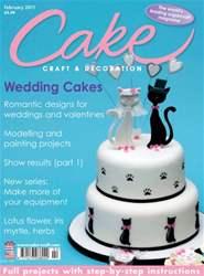 Cake Decoration & Sugarcraft Magazine Magazine Cover