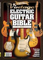 Vintage Electric Guitar Bible 2015 issue Vintage Electric Guitar Bible 2015