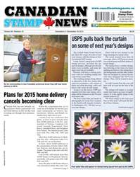 Canadian Stamp News Magazine Cover