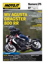 Moto.it Magazine n. 175 issue Moto.it Magazine n. 175