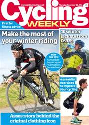 Cycling Weekly Magazine Cover