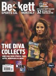 Sports Card Monthly Magazine Cover