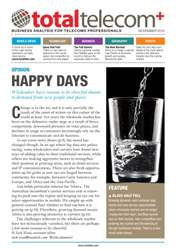 November 2014: Happy Days issue November 2014: Happy Days