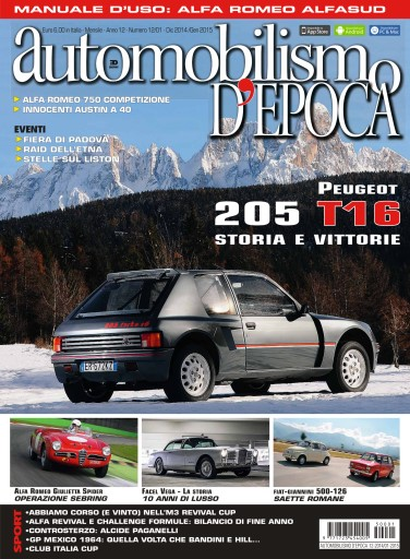 Automobilismo d'Epoca Preview