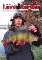 Lure Angler Magazine Cover