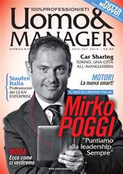 Uomo&Manager AgostoSettembre issue Uomo&Manager AgostoSettembre