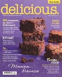 Delicious Magazine Magazine Cover