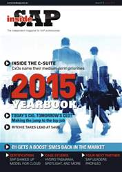 Inside SAP Yearbook 2015 issue  Inside SAP Yearbook 2015