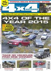 No.370 4x4 of the year 2015 issue No.370 4x4 of the year 2015