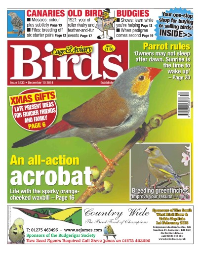 Cage & Aviary Birds Digital Issue
