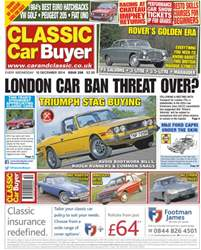 No.257 London car ban threat over? issue No.257 London car ban threat over?