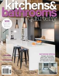 Kitchens & Bathrooms Quarterly Magazine Cover