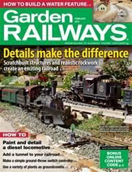 Garden Railways Magazine Cover