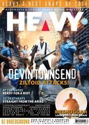 HEAVY MAG Magazine Cover