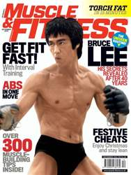 Muscle & Fitness Magazine Magazine Cover