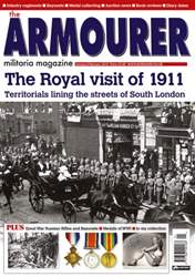 The Armourer Magazine Cover