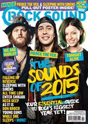 Rock Sound Magazine Magazine Cover