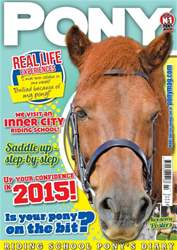 PONY Magazine - February 2015 (Issue 795) issue PONY Magazine - February 2015 (Issue 795)