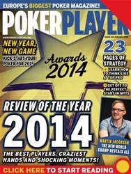 PokerPlayer Magazine Cover