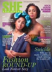 She Caribbean Magazine Cover