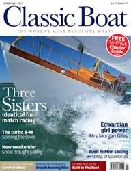 Classic Boat Magazine Cover