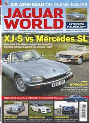No.154 XJ-S vs Mercedes SL issue No.154 XJ-S vs Mercedes SL
